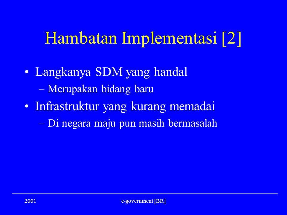 Hambatan Implementasi [2]